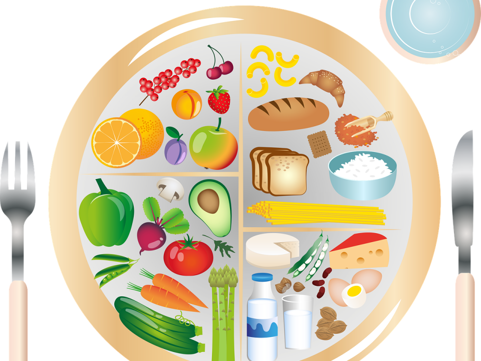 beslenme tabağı